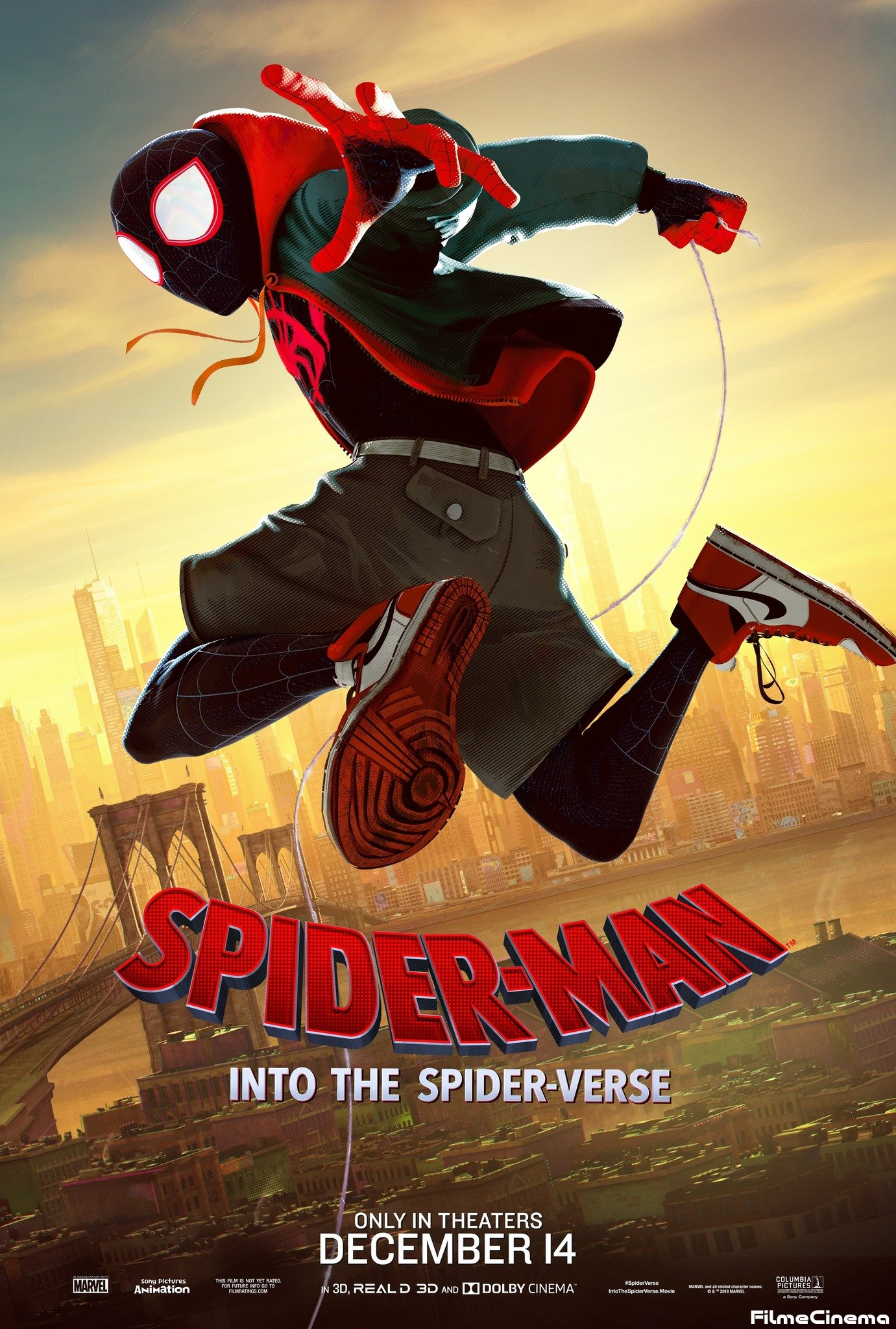 Spider-Man: Into the Spider-Verse Online Sutitrat